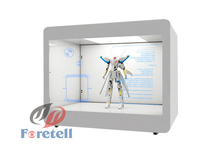 Remote Control Transparent Window Display , 42 Inch Transparent Monitor Screen