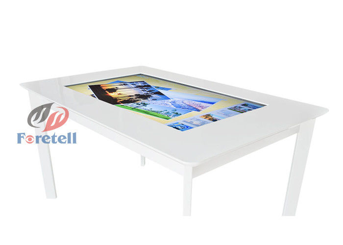 Waterproof Large Format Touch Screen Display , Infrared Touch Screen Table Restaurant Usage