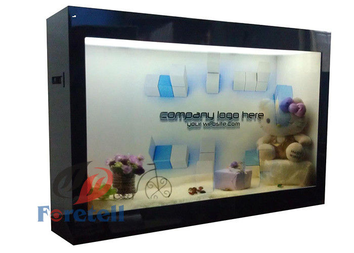 Clear Lcd Monitor Transparent Display Screen , OLED Transparent Digital Signage Display