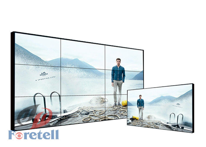 Super Narrow Bezel 1.8mm 4K Video Wall / 4k Video Display LG 55 Inch LCD Screen For Airport