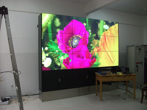 1080*1920P Resolution 16.7m LCD Video Wall Display 3.9mm Ultra Narrow Bezel